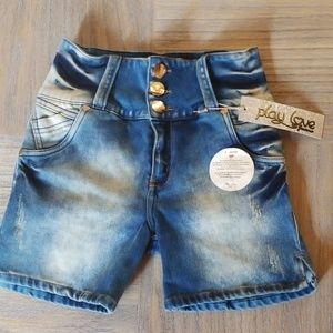 Pants - Play Love Jean Shorts, Buttlifting! BRAND NEW!